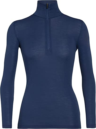 Icebreaker Merino Womens 175 Everyday Long Sleeve Thermal Cold Weather Base Layer T-Shirt