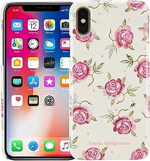 VQ Emma Bridgewater Slim Mobile Phone Case for Apple iPhone X/XS - Rose & Bee