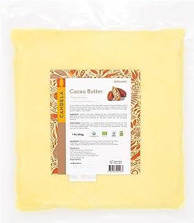 16oz Premium Organic Raw Cacao Butter/Cocoa Butter. 100% Pure. Unrefined. Food Grade. Candela Peru.