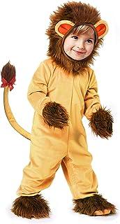 IKALI IKALI Baby Jungen Mädchen Löwe Kostüm,Halloween Tier Pyjama,Onesize Strampler Overall 5PCS