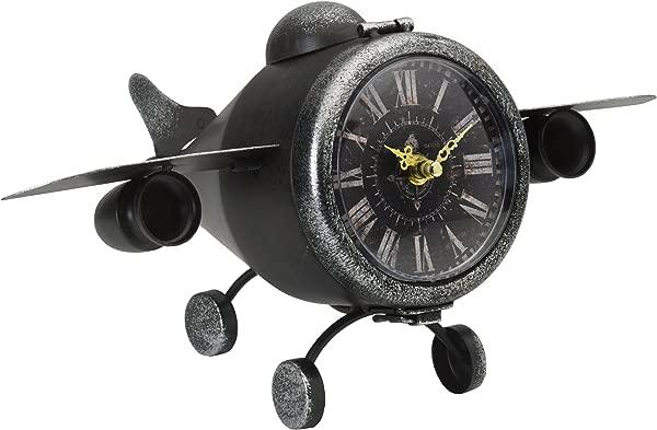 元素金属飞机表时钟 7 5