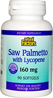 Natural Factors Saw Palmetto, 90 Capsules