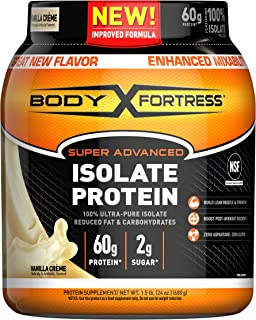 Best isolate protein powder body fortress Reviews