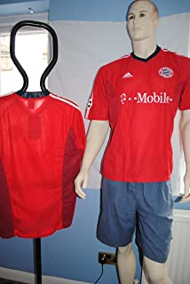 adidas Authentic 2002-2003 Bayern Munich Germany Soccer Jersey - Champions League - Made in Portugal