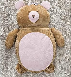 Puff Gigante Para Dormir Pelúcia Ursa Grande Com 1 Peças