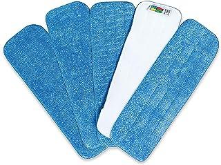 comprar comparacion Mopa de Microfibra Cabecera de Repuesto para Trapeadora Re-Up (Seco/Mojado) compatibles con Bona Floor Care System (Paquet...