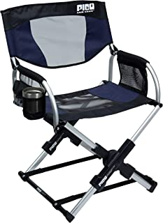 folding chair with sunshade
