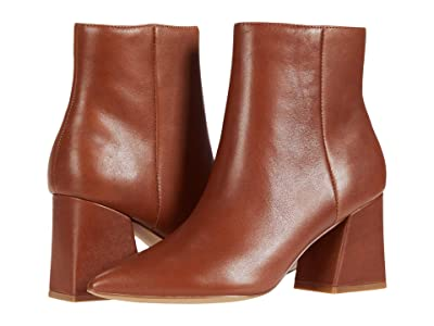 Steve Madden Nix Bootie (Cognac Leather) Women