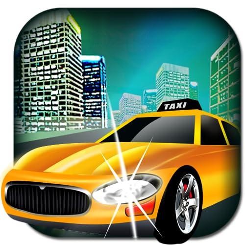 Taxi in New-york-Verkehr - die kühle Kabine freien Spiel