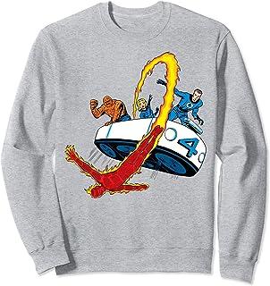 Marvel Fantastic Four Retro Fantasticar Team Sweatshirt