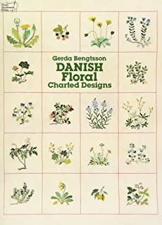 Danish Floral Charted Designs (Dover Embroidery, Needlepoint)