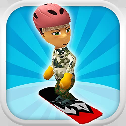 Ein Freestyle-Snowboarder: Extreme 3D Snowboarding Game - FREE Edition