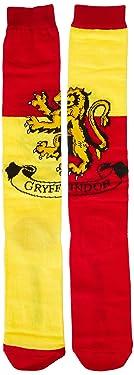 Harry Potter Gryffindor House Knee High Socks, Multi, Fits Shoe Size 4-10/Size 9-11