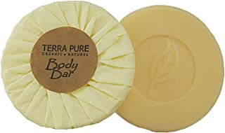 Terra Pure Bar Soap, Travel Size Hotel Amenities, 1.25 oz (Pack of 350)