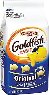 Pepperidge Farm, Goldfish, Crackers, Original, 6.6 oz., Bag, 24-count
