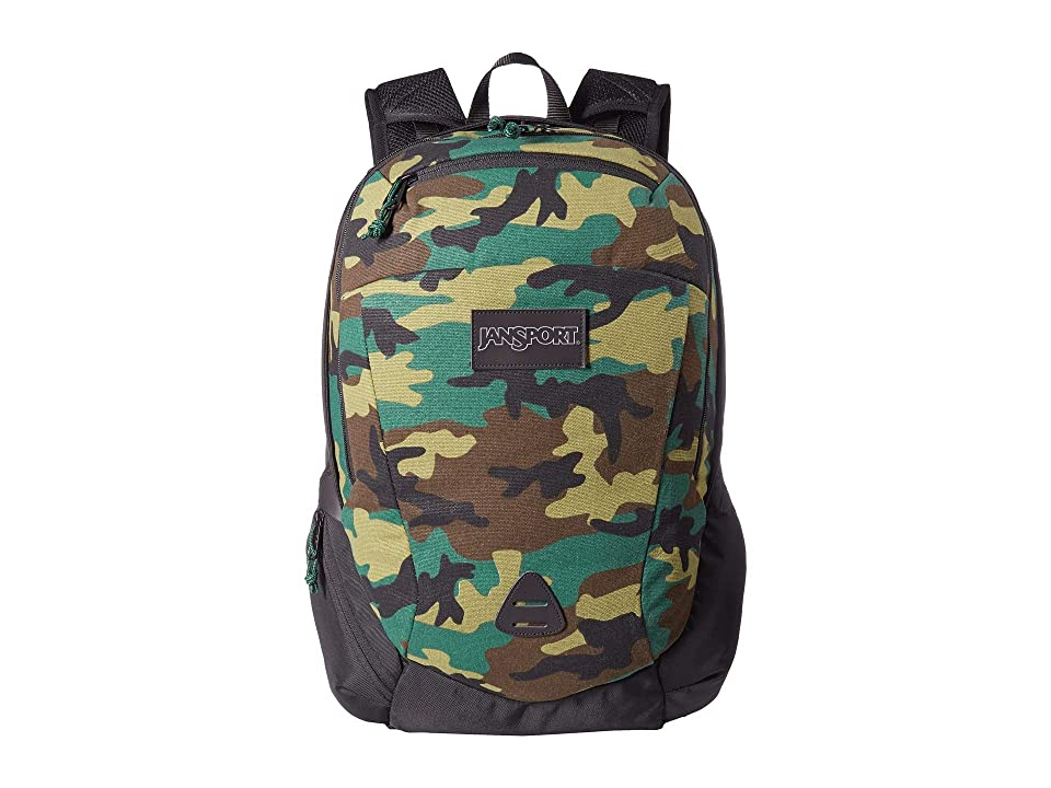 JanSport Wynwood (Canvas Surplus Camo) Backpack Bags