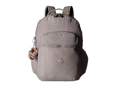 Kipling Seoul Go Backpack (Slate Grey) Backpack Bags