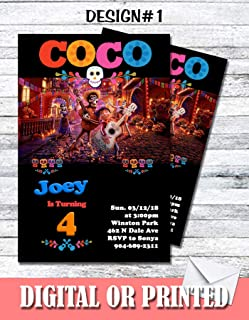 Coco Personalized Birthday Invitations More Designs Inside!