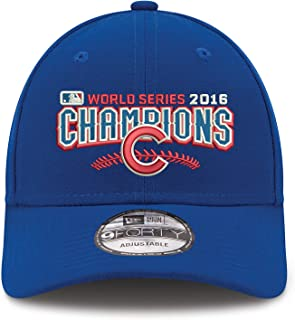 Chicago Cubs New Era 2016 World Series Champions 9Forty Adjustable Hat -Royal