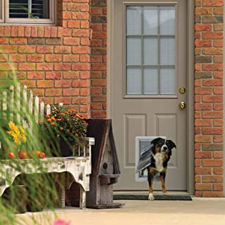 Ideal Pet Products Designer Series Ruff-Weather Pet Door with Telescoping Frame