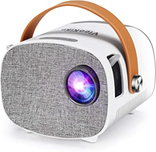 """Mini Projector, LED Pico Pocket Video Projector Outdoor Movie Projector Portable Home Theater Projector and 100"""" Supported..."""