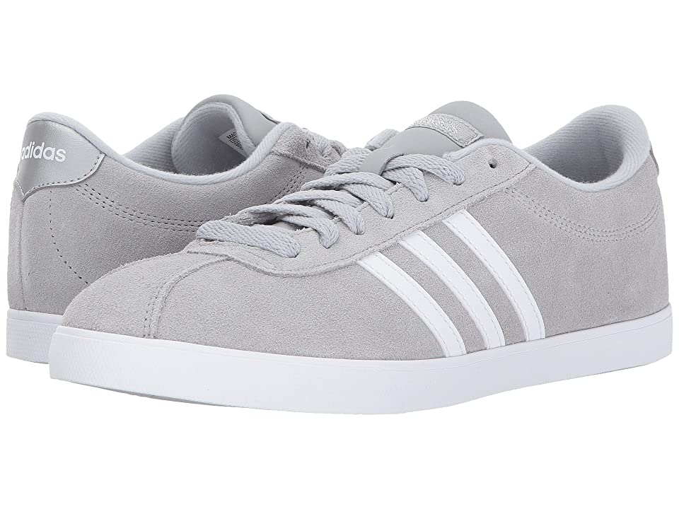adidas Courtset (Clear Onix/White/Silver) Women