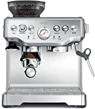Sage Appliances SES875 the Barista Express, Espresso machine, standaard, Brushed Stainless Steel