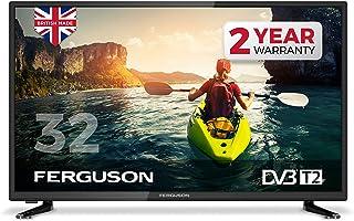 "Ferguson 32"" LED Digital TV with Freeview T2 HD, Black"