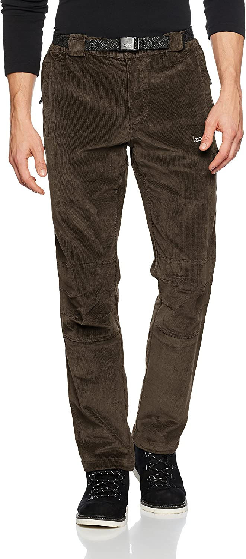 (XXX-Large, Kaki) - Izas Men's Gstaad Corduroy Stretch Pant