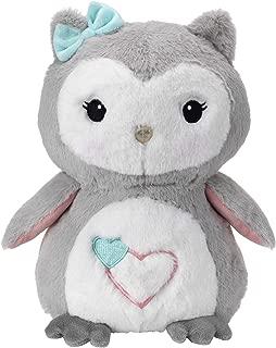 Lambs & Ivy Sweet Owl Dreams Gray/White Plush Stuffed Animal Toy - Sugar Cookie