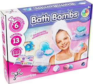 Science 4 You Bath Bombs Educational Science kit, STEM Toy for Girls Aged 8+