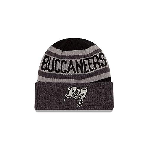 New Era NFL Unisex NFL Black   Gray Biggest Fan 2.0 Cuff Knit Beanie 01274691cb2