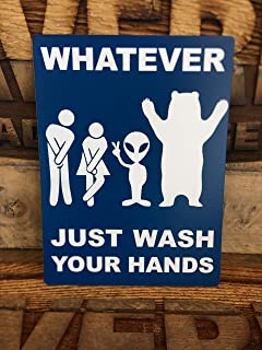Best just wash your hands bathroom sign Reviews