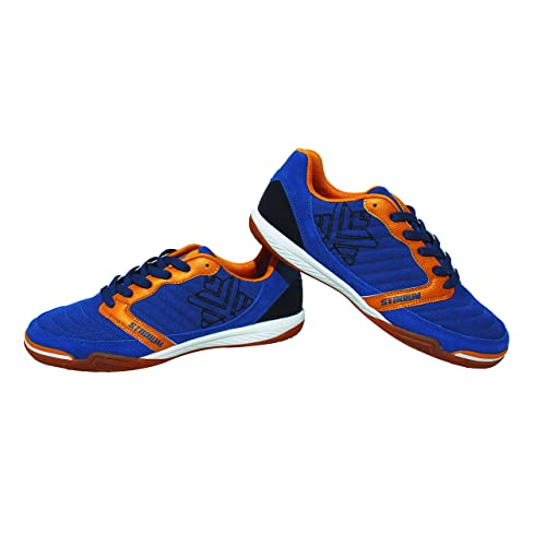 Luanvi FS STADIUM - Zapatillas de fútbol Sala, Unisex Adultos, Azul Marino 45