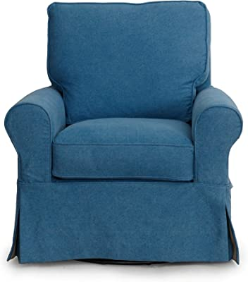 Phenomenal Amazon Com Madison Park Harris Swivel Chair Grey See Below Short Links Chair Design For Home Short Linksinfo