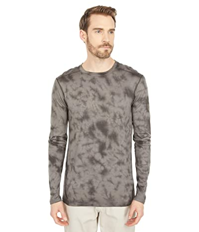 Smartwool Merino 150 Base Layer Long Sleeve (Black Marble Wash) Men
