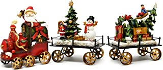 Gift Boutique Christmas Express Train Table Decor - Holiday 3-Piece Mini 6