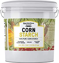 Corn Starch, 1 Gallon Bucket, 4.5 lbs. by Unpretentious Baker, High Quality & All-Natural, Thickening Agent, Natural Clean...