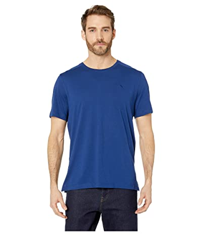 Tommy Bahama Cotton Modal Knit Jersey T-Shirt (Kingdom Blue) Men