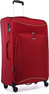 Antler 4263143015 Zeolite 4W Large Roller Case Suitcases (Softside), Red, 80 cm