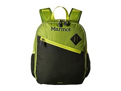 Marmot Root Daypack (Little Kids/Big Kids) (Green Lichen/Rosin Green) Day Pack Bags