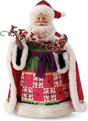 Department 56 Possible Dreams Jim Shore Santa Little Old Driver Limited Edition Figurine, 12 Inch, Multicolor