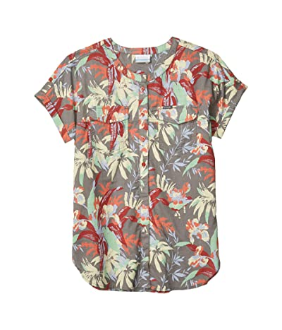 Columbia Camp Henrytm Relaxed Shirt (Dusty Crimson Floral Print) Women