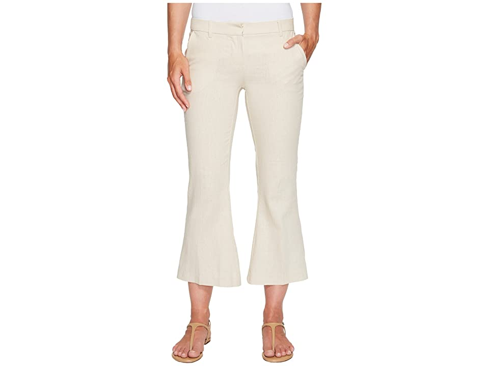 XOXO Natalie Cropped Kick Flare Pants (Natural 8) Women
