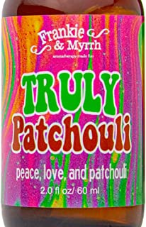 Truly Patchouli | Dark Aged Patchouli Oil Perfume/Cologne | Earthy, Musky Aromatherapy Spray for Relaxing Stimulation and ...