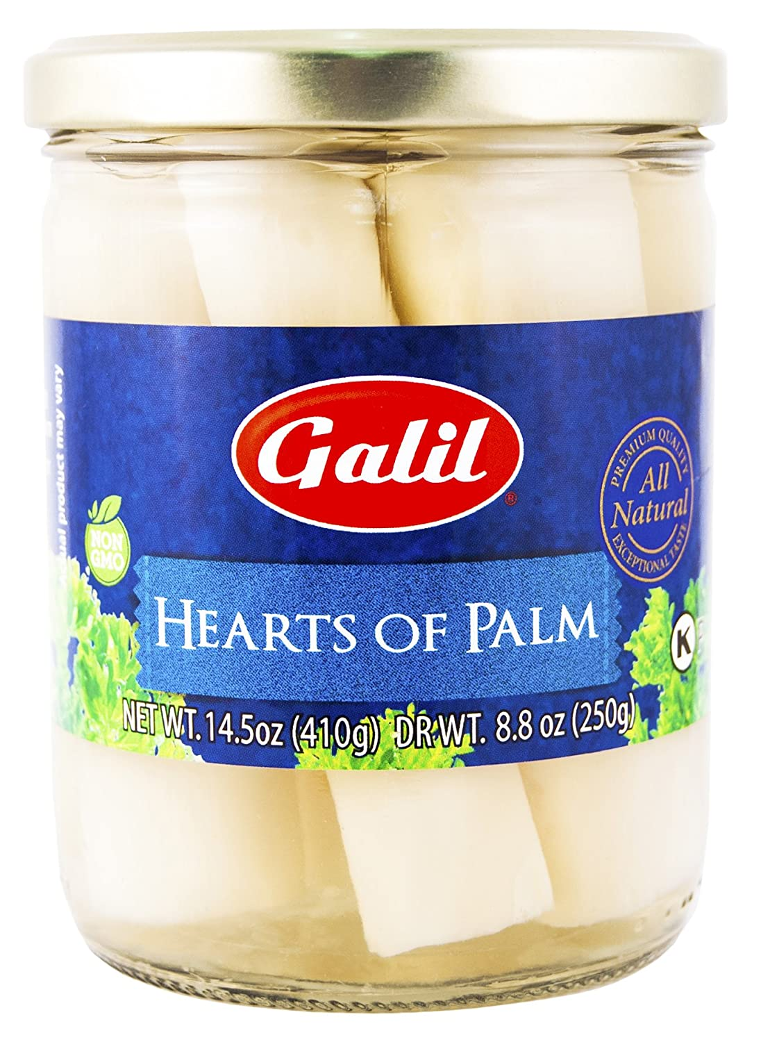 Galil Hearts of Outlet Detroit Mall SALE Palm 14.5 Ounce Jar