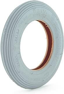 6 x 1 1/4 Pneumatic Tire - Ribbed Tread - Cheng Shin
