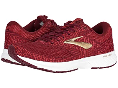 Brooks Revel 3 (Rumba Red/Teaberry/Gold) Women