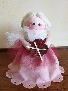 Bambola con cuore - personalizzabile, Idea Regalo, San Valentino, Nascita, Matrimonio, Anniversario, Compleanno, Festa del...