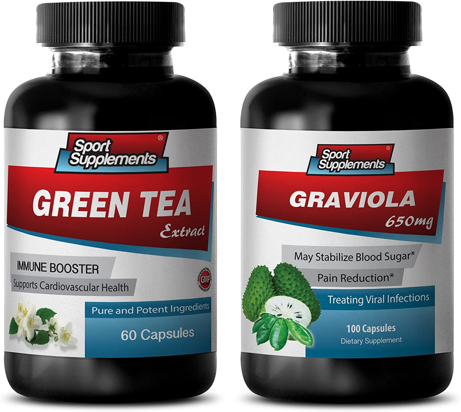 Fat Loss Capsules Easy-to-use - Green Challenge the lowest price of Japan GRAVIOLA Combo Suppl Tea